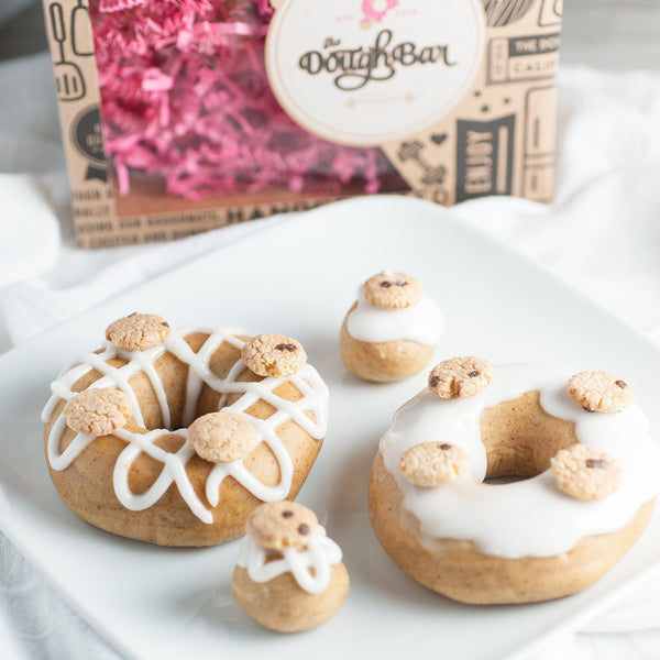 4 Pack - Raised Doughnut - Cookie Dough