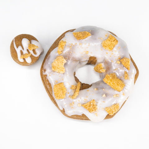 4 Pack - Raised Doughnut - Cinnamon Toast Crunch
