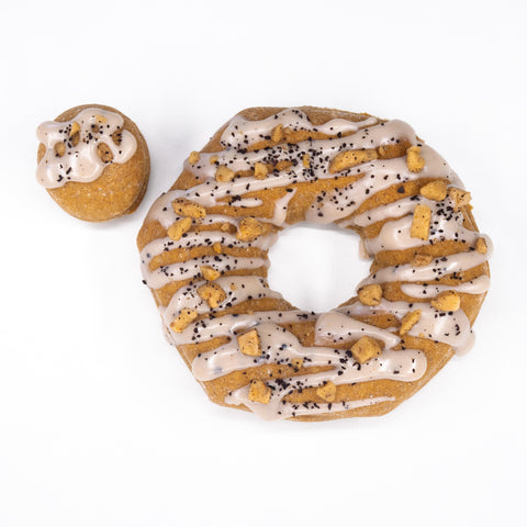 4 Pack - Raised Doughnut - Caramel Macchiato