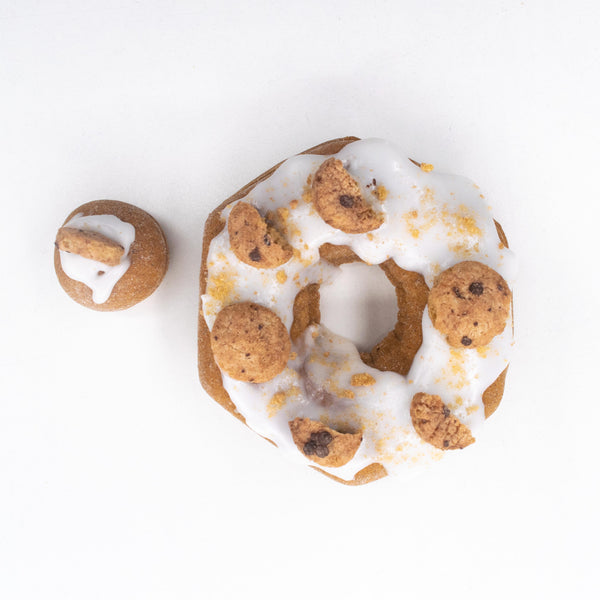 8 Pack (D) - Raised Doughnut - 4 Cookie Monster / 4 Cookie Dough