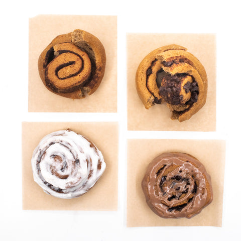 8 Pack - Cinnamon Roll & Chocolate Roll Variety