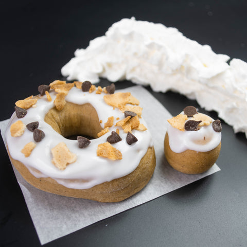 4 Pack - Raised Doughnut - Cannoli