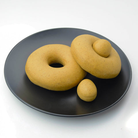 4 Pack - Raised Doughnut - PLAIN