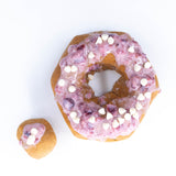 4 Pack - Raised Doughnut - Cranberry White Chocolate