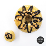 4 Pack - Cake Doughnut - Peanut Butter Fudge