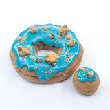 4 Pack - Raised Doughnut - Cookie Monster
