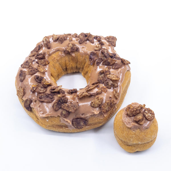 12 Pack (A) - Raised Doughnut - 4 Nutella / 4 Reese's / 4 Cocoa Pebbles