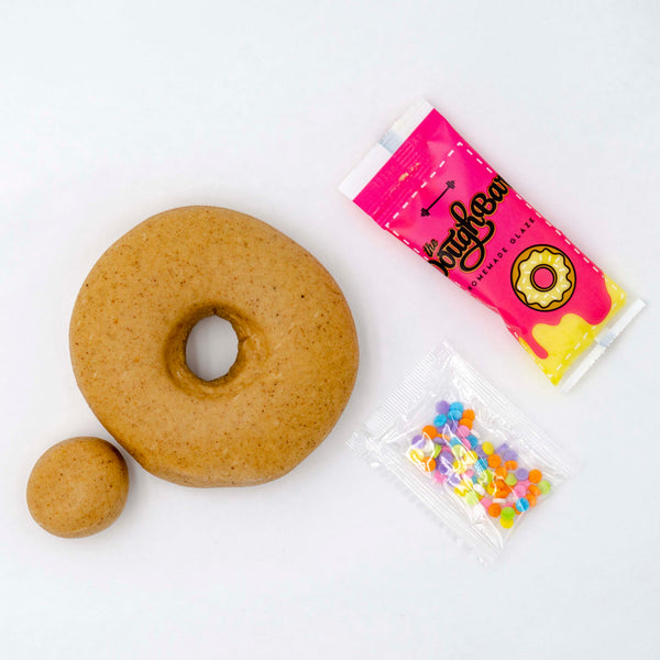 4 Pack - Raised Doughnut - Sugar Cookie