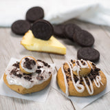 4 Pack - Raised Doughnut - Oreo Cheesecake w/ Oreo Crumbles