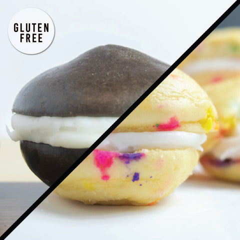 6 Pack - WHOOPIE PIE - Funfetti + Cookies N' Cream (GF)