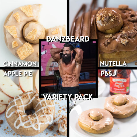 ‼️LIMITED‼️ 4 Pack - Raised Doughnut - @DanZBeard Variety Pack