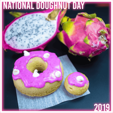 (NEW) 4 Pack - Cake Doughnut - Dragonfruit