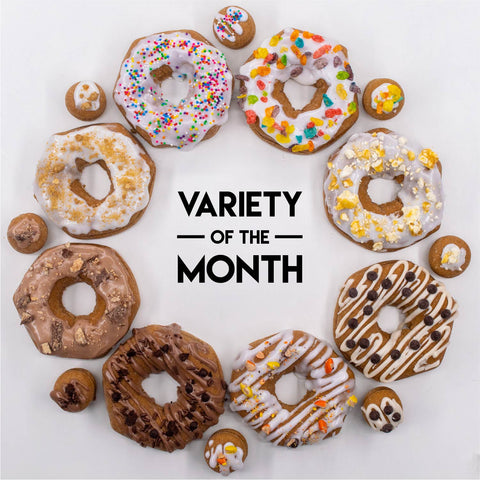‼️Limited‼️ 8 Pack - Raised Doughnuts - (1): Variety of the Month