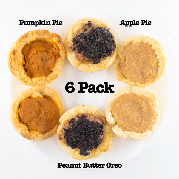 [small batch - nov] 6 Pack Small Batch Mini Pie Variety