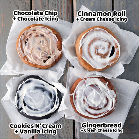 8 Pack - Cinnamon, Chocolate, Cookies' N Cream, Gingerbread Variety