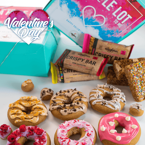 *PRE-ORDER* Valentines Day 6 Pack Raised Doughnut + 6 Pack Crispy Bar