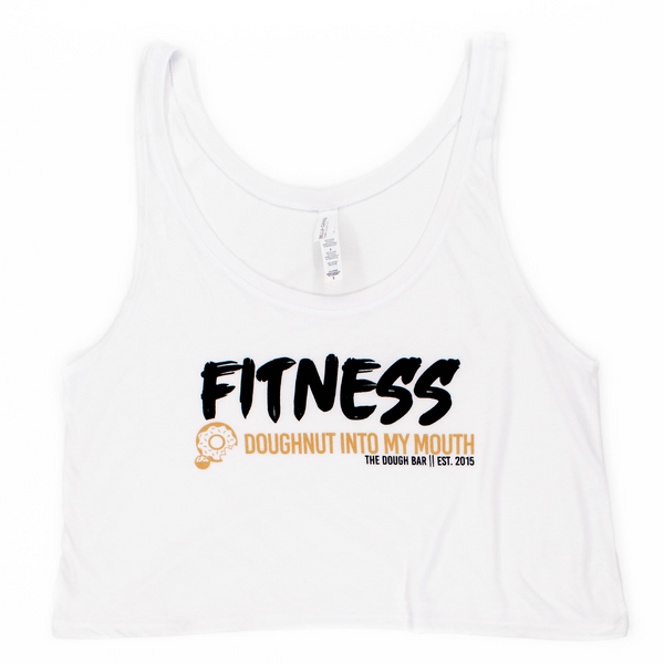Fitness | White Crop Tank