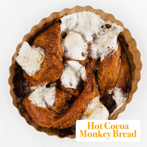 [CYBER MONDAY] 4 Pack - Monkey Bread - Hot Cocoa