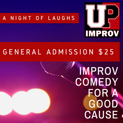 A NIGHT OF LAUGHS (Improv Comedy Fundraiser) Monday 9/16
