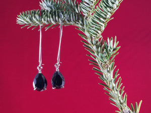 Black Covergirl Earrings