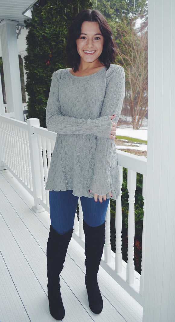 Fenini Light Grey Tunic