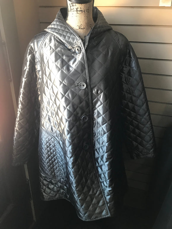 UBU Pewter/Black Raincoat