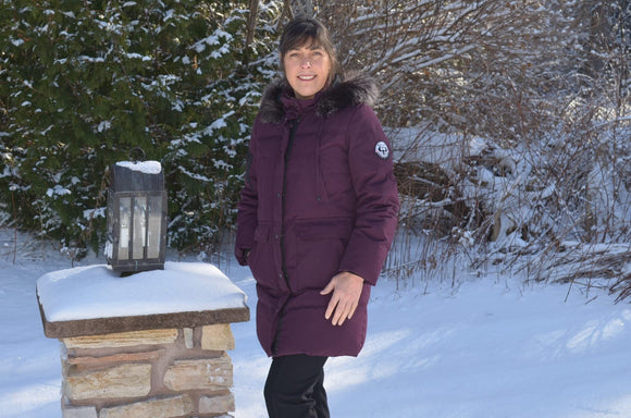 Artic Expedition Plum Coat