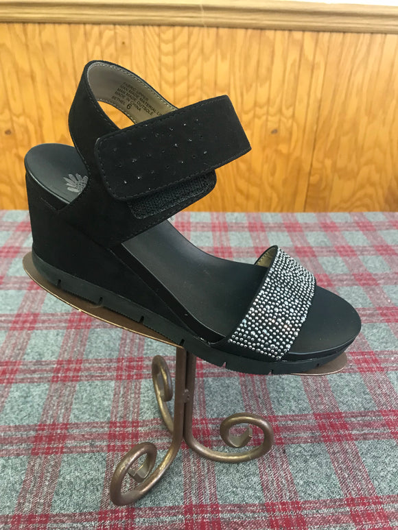 Yellowbox Bethel Black Wedge