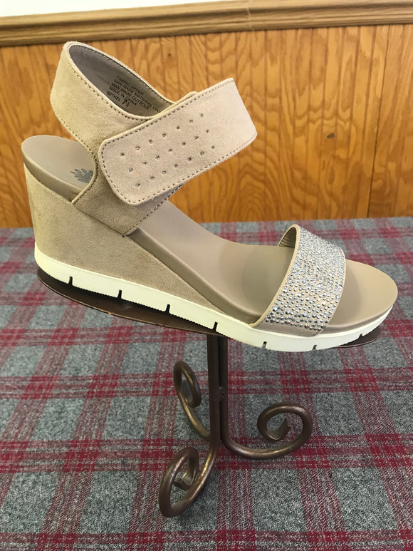 Yellowbox Bethel Taupe Wedge