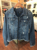 FDJ Frayed Jean Jacket