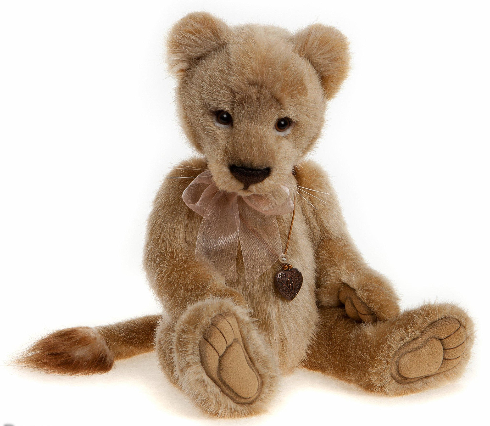 Charlie Bears Lyra Lioness Lion Stuffed Animal