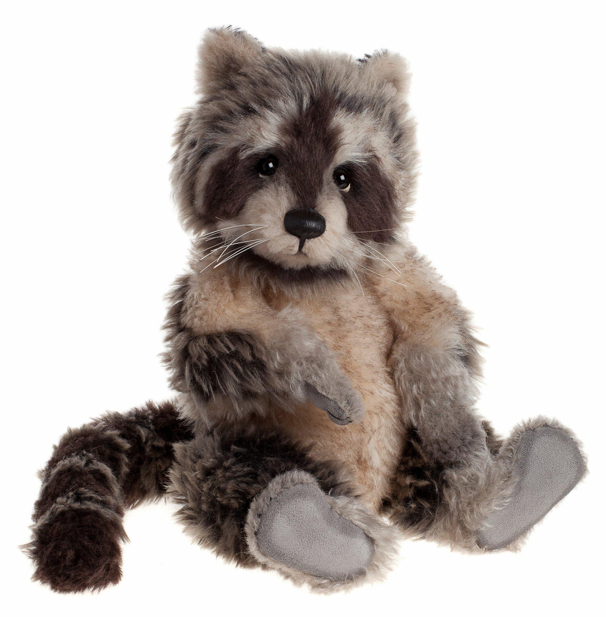 Charlie Bears Treetop Racoon Isabelle Collection