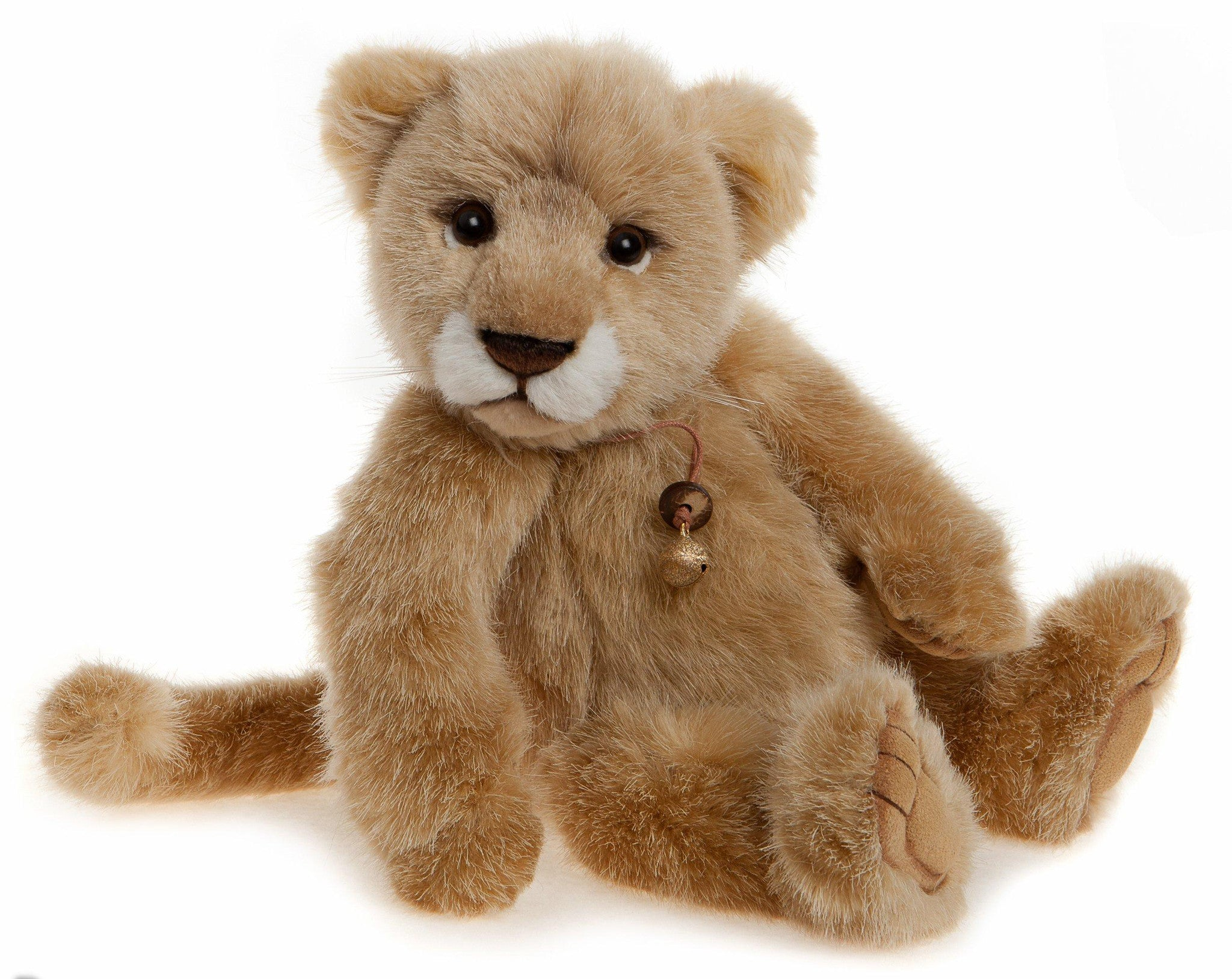 Savannah Baby Lion - Plush Stuffed Animal by Charlie Bears