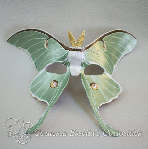 Luna Moth Mask