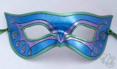 Fairy Wings / Stylized Butterfly Mask - Blue