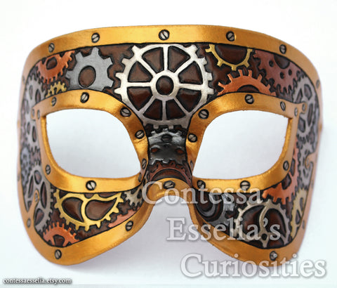 Clockwork Gears Mask