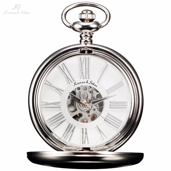 Hunter's Hand Wind Pocket Watch