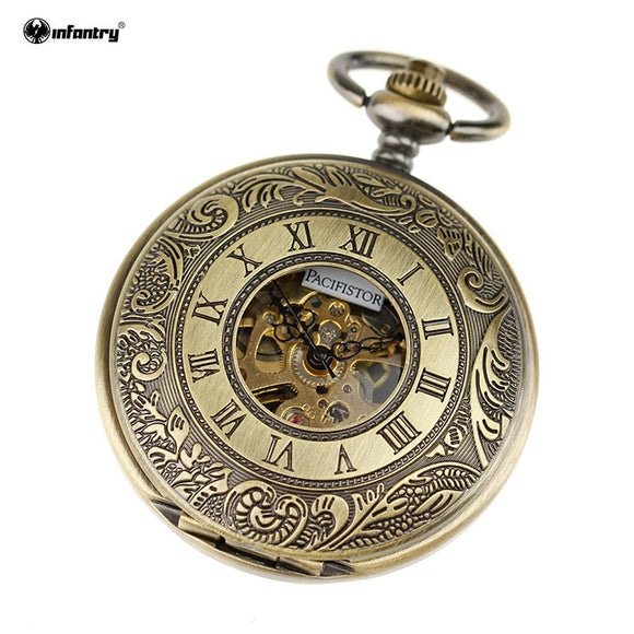 Luxury Roman Copper Pocket Watch