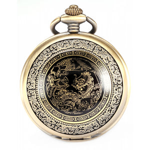 Classic Dragon Pendant Pocket Watch