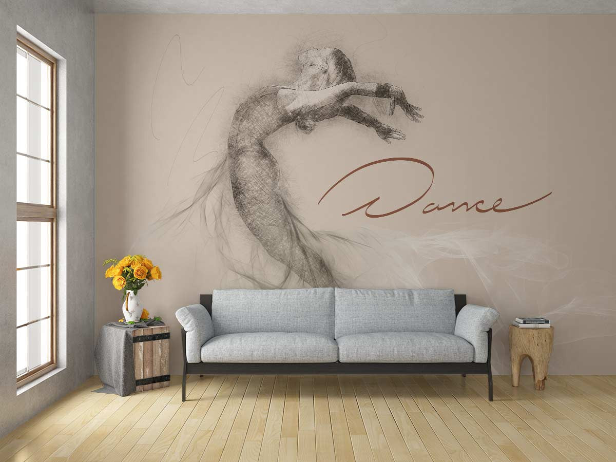 sports murals 101 dance wall mural