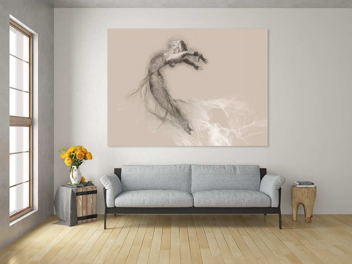 Dance wall mural murals 101 dancer wall mural amipublicfo Image collections