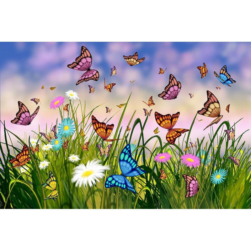 Butterfly Wall Mural 3 sizes available Murals 101