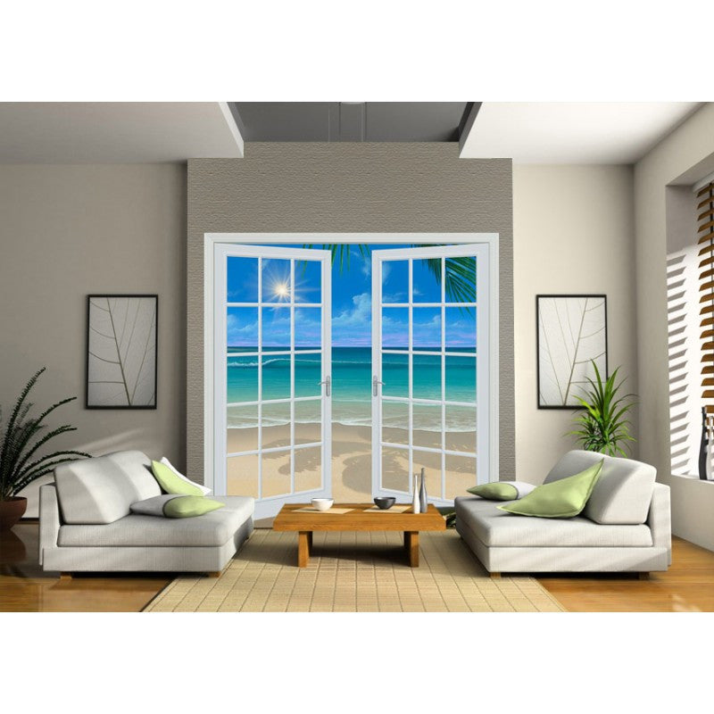Doorway to Paradise (80\  x 84\ ) - French Door Wall Mural  sc 1 st  Window and Door Murals & Moon Shadows (80\