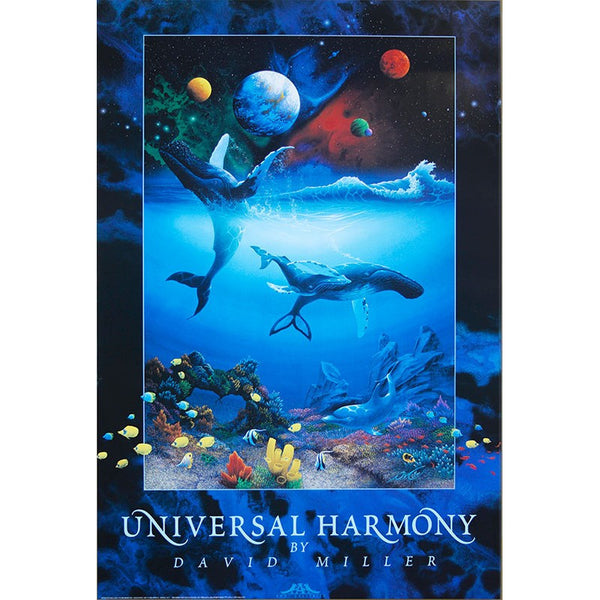 Quot Universal Harmony Quot Humpback Whale Poster 24 Quot X 36