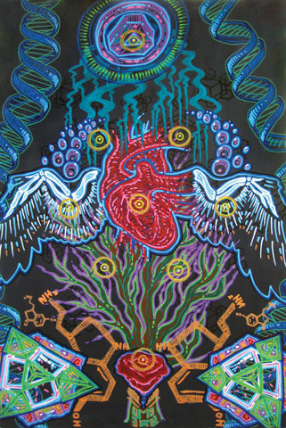 Branching Systems, art - Michael Garfield Visionary Art (michaelgarfieldart.com)