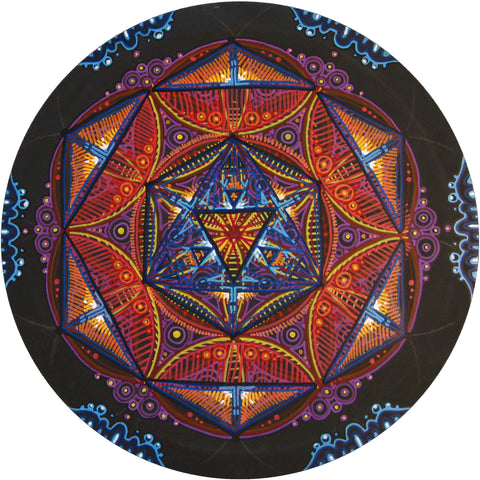 Compass Mandala #1, art - Michael Garfield Visionary Art (michaelgarfieldart.com)