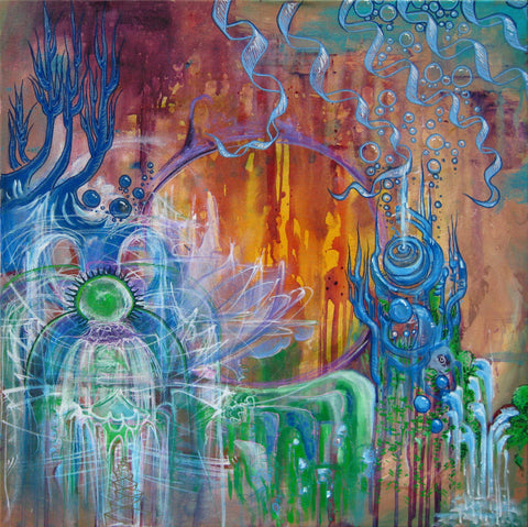 Atlantis Melts, art - Michael Garfield Visionary Art (michaelgarfieldart.com)