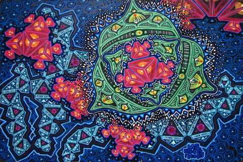 Closed Kaleidoscope Eyes, art - Michael Garfield Visionary Art (michaelgarfieldart.com)