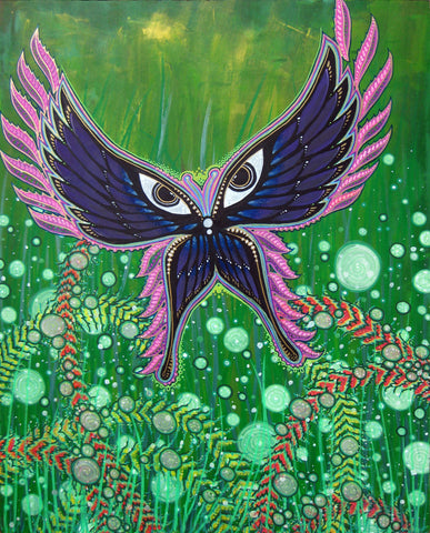 Takes Flight, art - Michael Garfield Visionary Art (michaelgarfieldart.com)