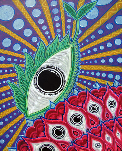 Seed of Awakening, art - Michael Garfield Visionary Art (michaelgarfieldart.com)